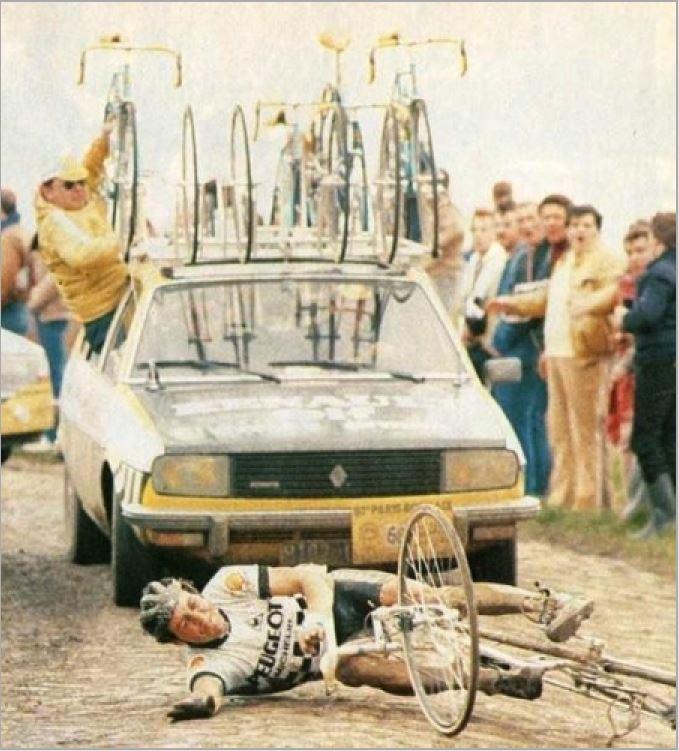 1983 Roche Stephen 01 Paris-Robaix Renault contra Peugeot.