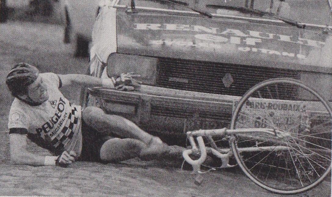 1983 Roche Stephen 02 Paris-Robaix Renault contra Peugeot.