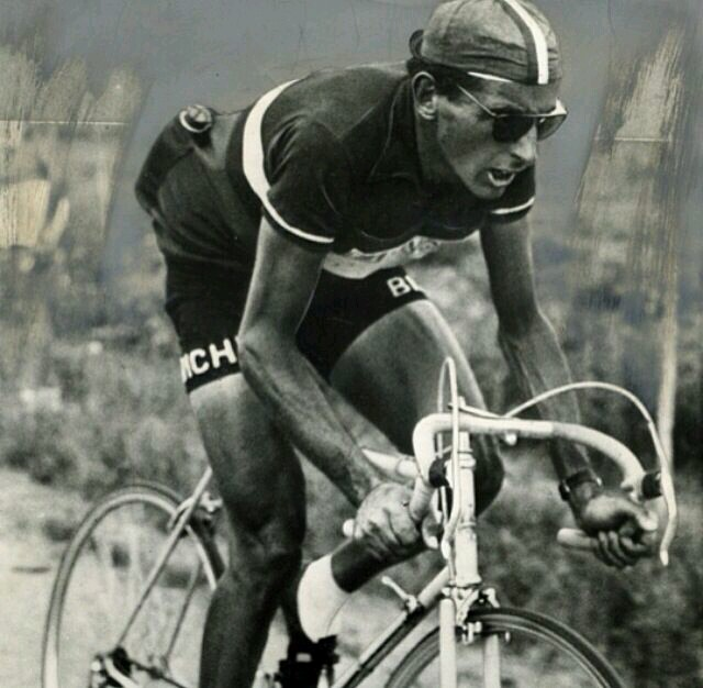 Coppi im Nationaltrikot.