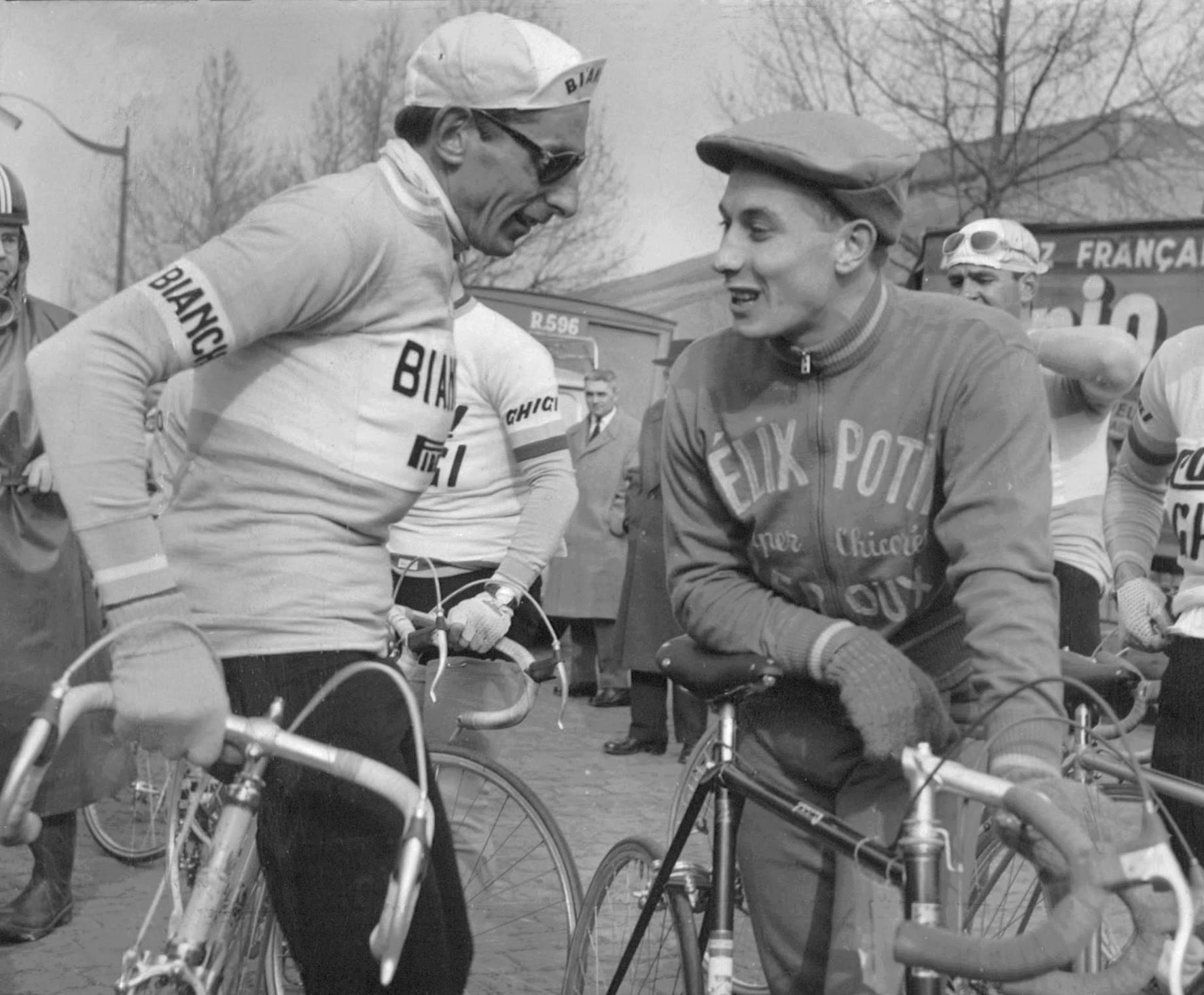 coppi und Anquetil 1958 Paris Nizza.jpg