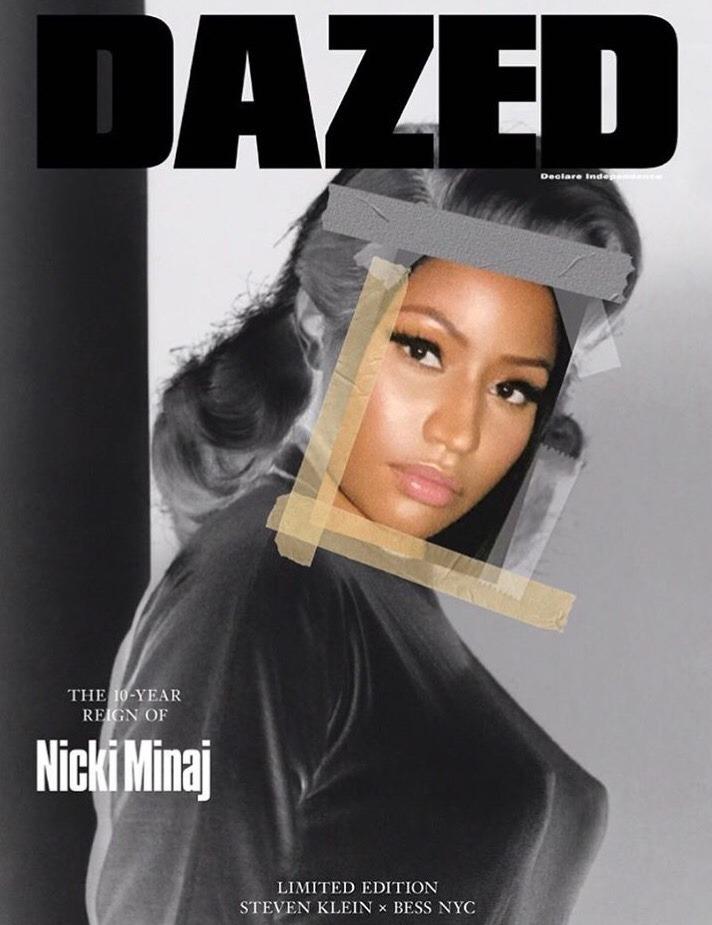 DAZED September issue featuring Nicki Minaj.