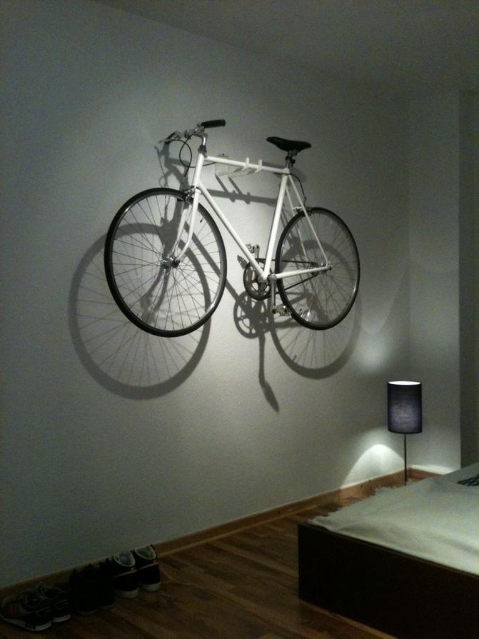 92 das rad im wohnzimmer size 2 3 4 fahrrad stnder - Wandschmuck wohnzimmer ...