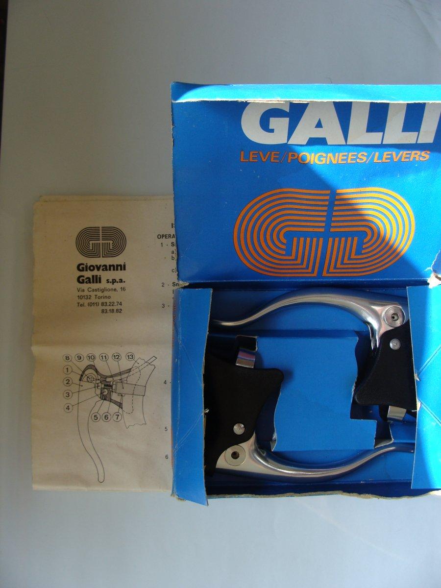 Galli Aerodinamica-Galli KL brakelever set NIP (7).JPG