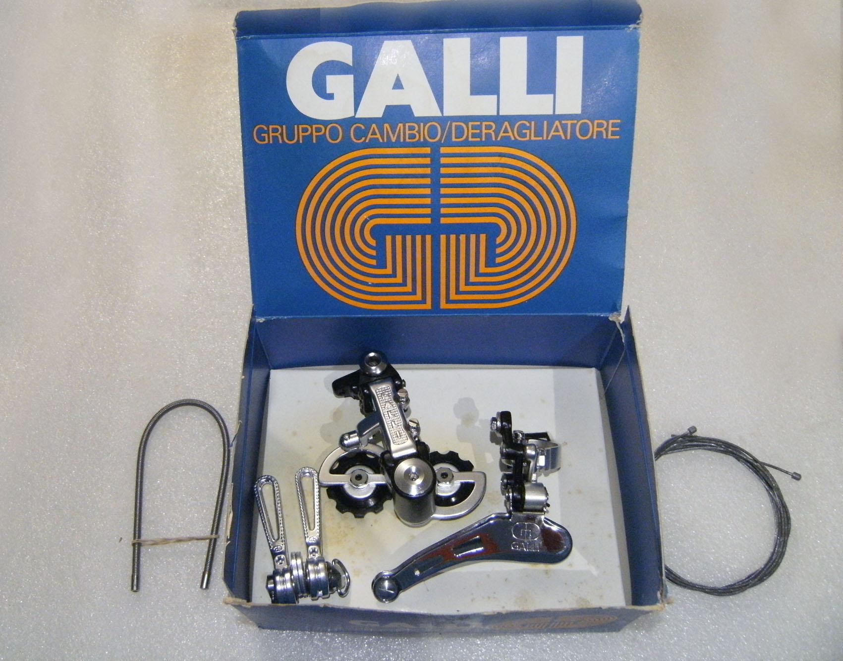 Galli Criterium gruppo cambio, SchaltSet, derailleur set (1).jpg