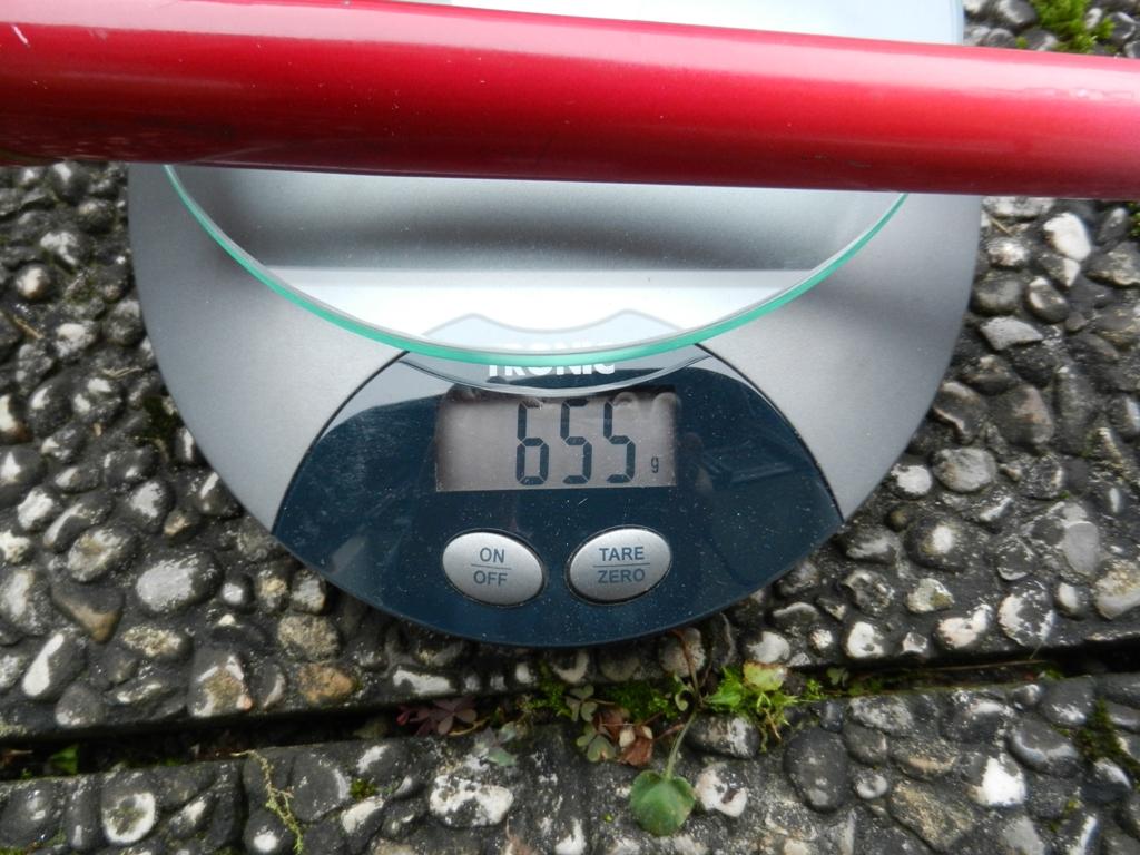 Gewicht Gabel.