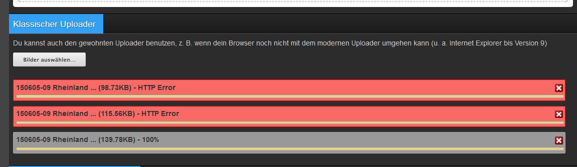 HTTP Error rrn.