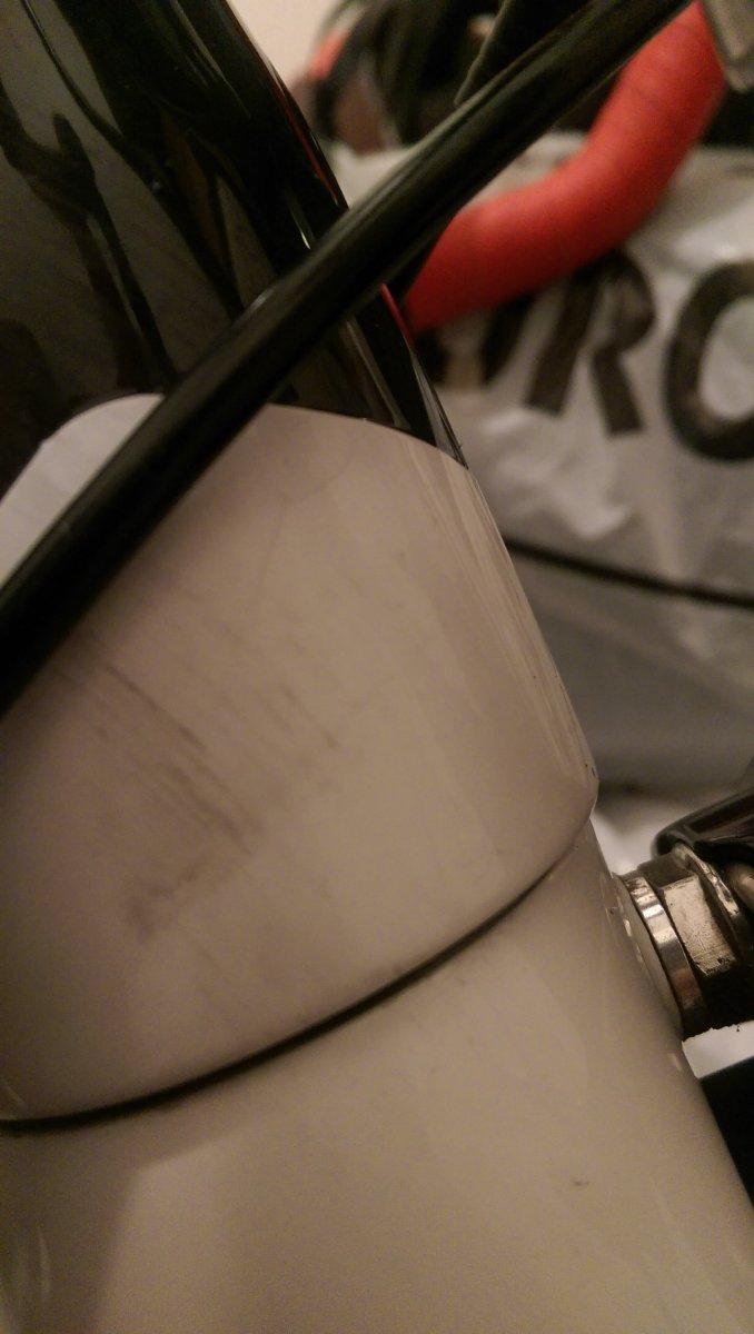 Haarriss im carbon Rahmen ?   Rennrad-News.de