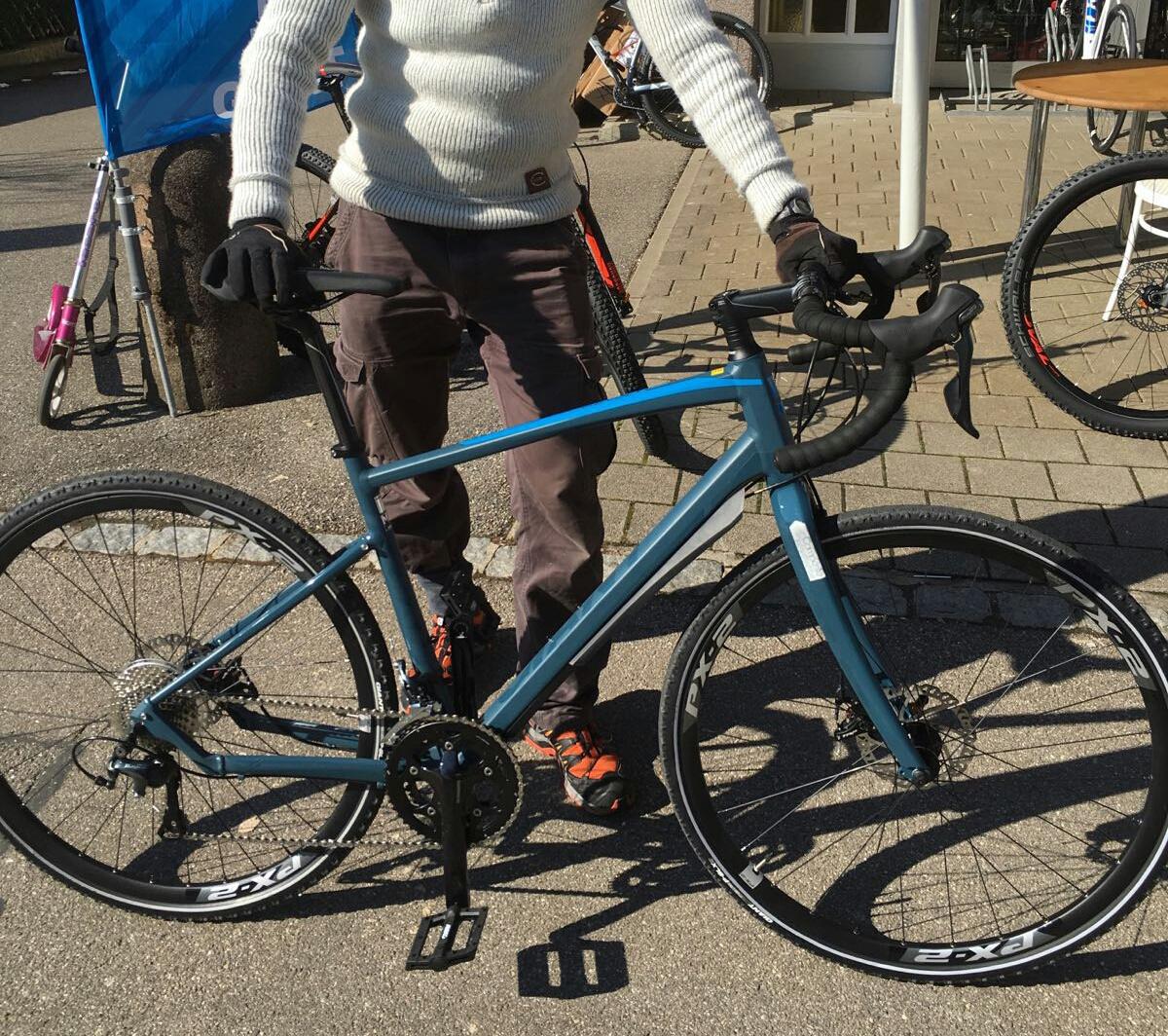 Kona Rove ST Rahmengröße für 180 / 88cm SL ? | Rennrad-News.de