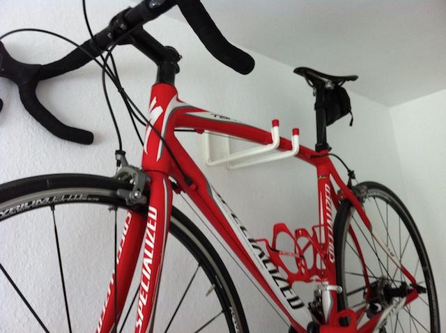 Fahrrad-Wandhalterung. Zeigt eure Eigenbauten!!!   Rennrad-News.de