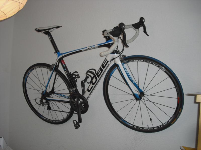 Fahrrad wandhalterung zeigt eure eigenbauten seite 3 rennrad - Wandhalterung rennrad ...