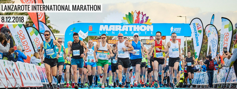 Lanzarote Marathon 2018.