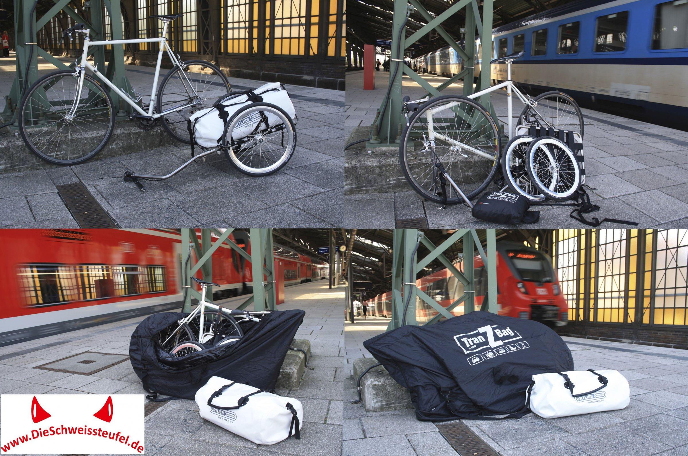 Rennrad und Anhänger – Rennanhänger, Urlaub mit der Bahn | Rennrad ...
