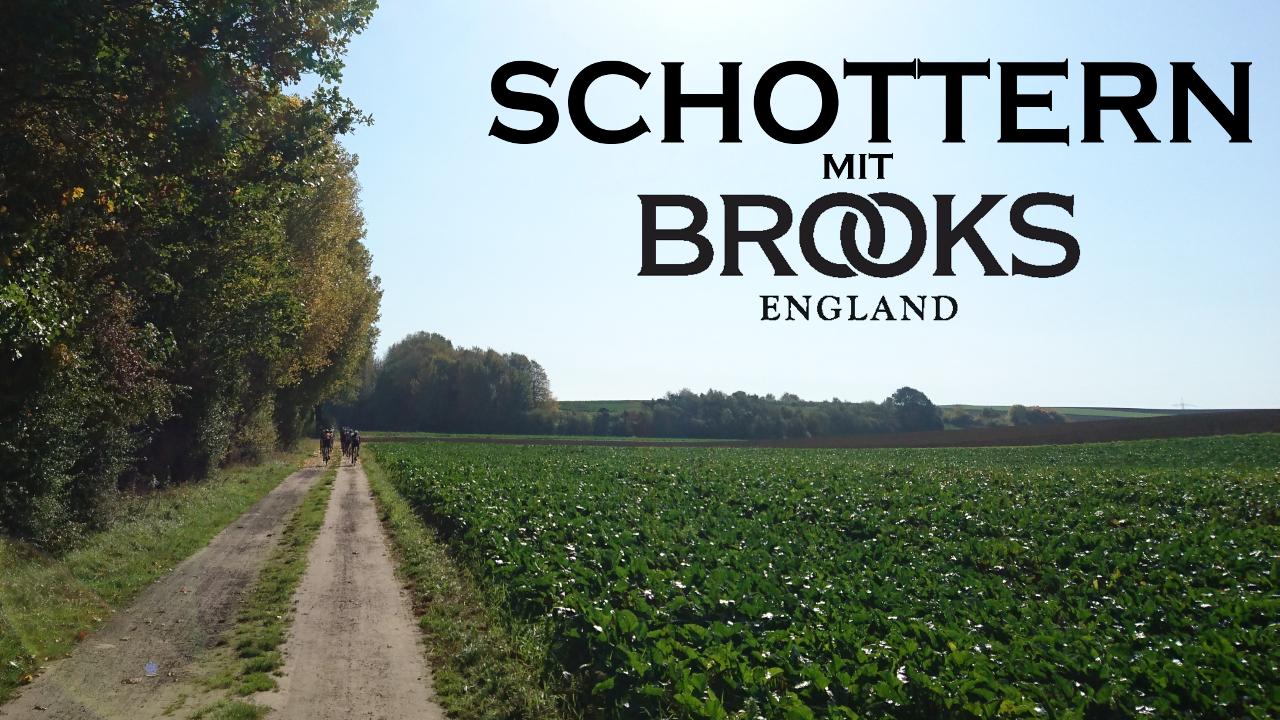 Schottern mit Brooks klein.