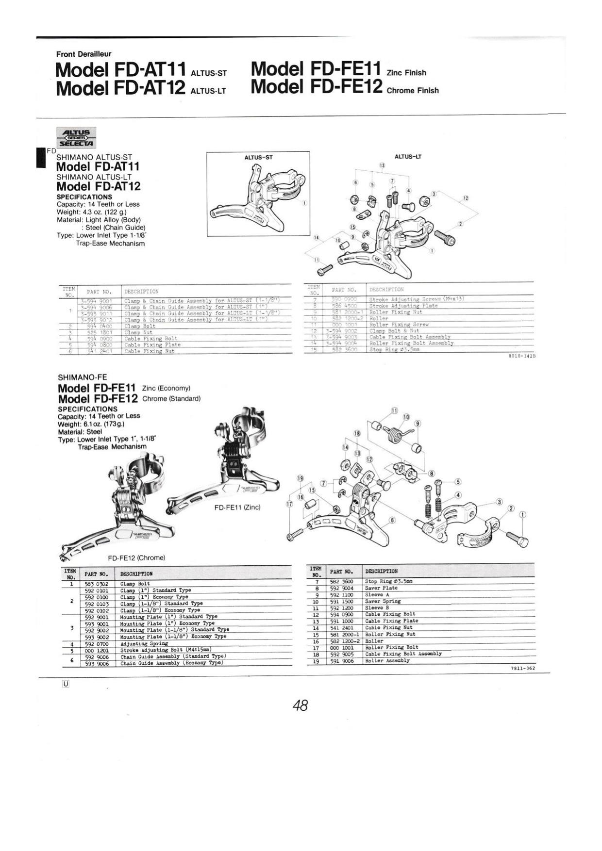 Shimano 1984 Dealer (verschoben) 2.