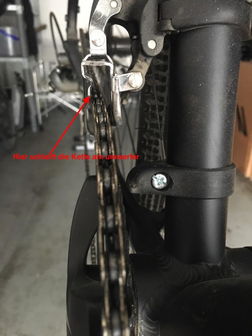 Probleme mit Shimano Tiagra 4700 Umwerfer | Rennrad