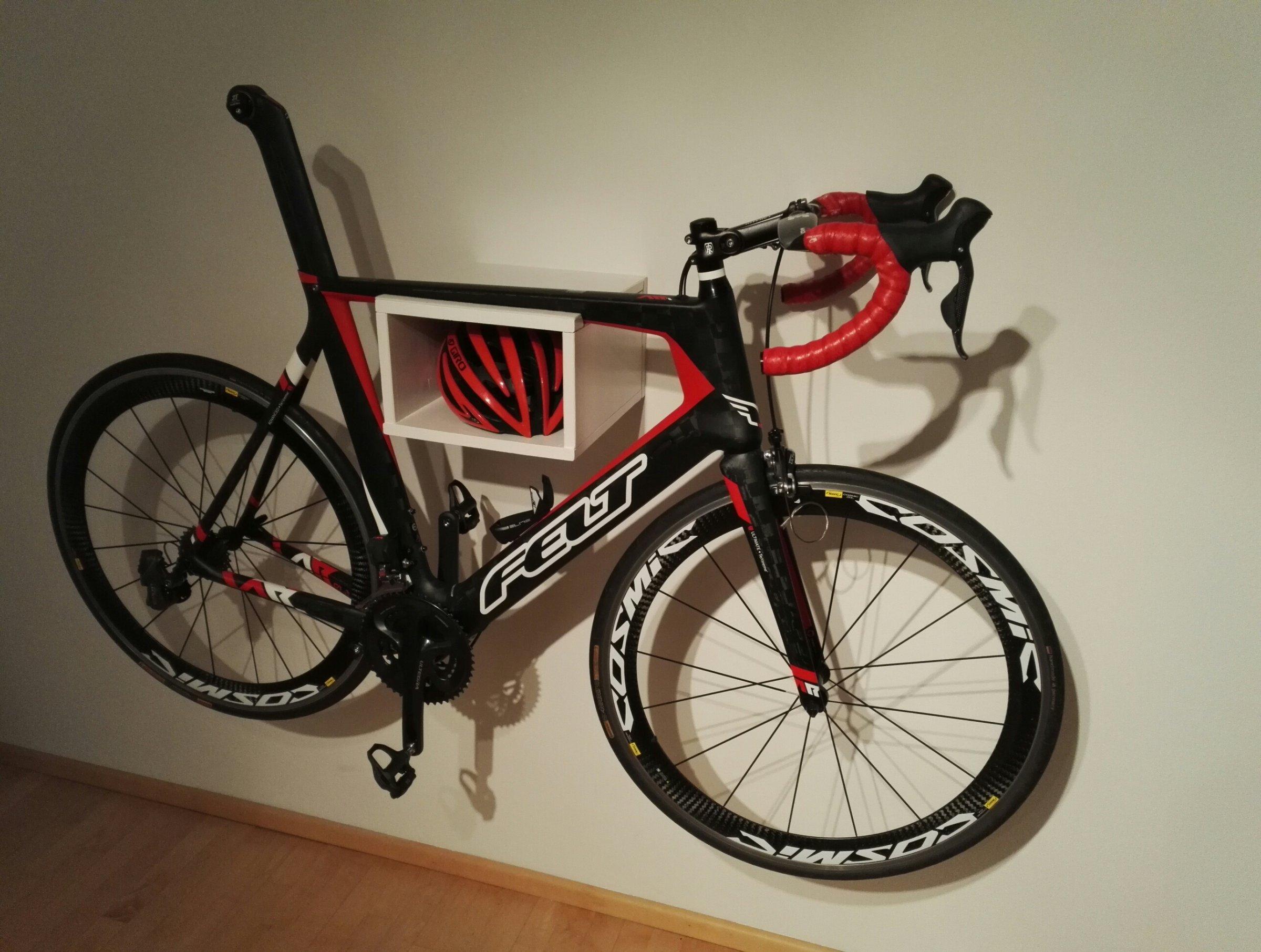Fahrrad wandhalterung zeigt eure eigenbauten seite 8 rennrad - Wandhalterung rennrad ...