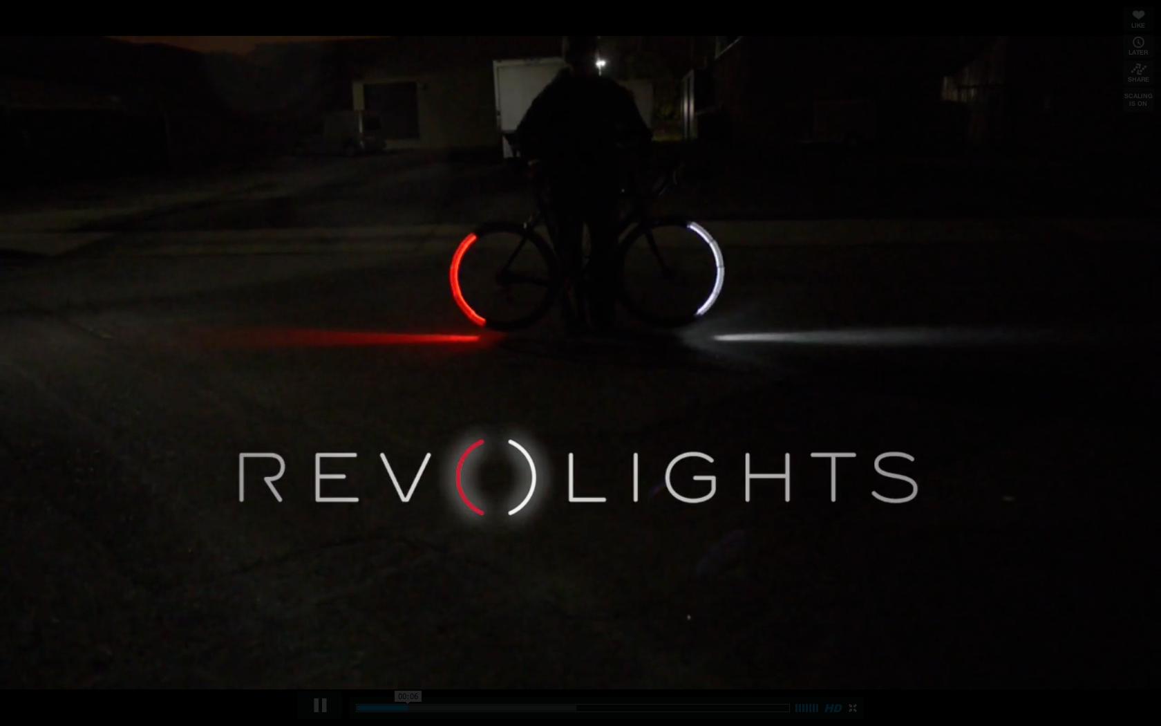 revolights fahrradbeleuchtung im tron stil rennrad news. Black Bedroom Furniture Sets. Home Design Ideas
