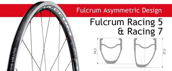 Racing 5 & Racing 7 Asymmetric