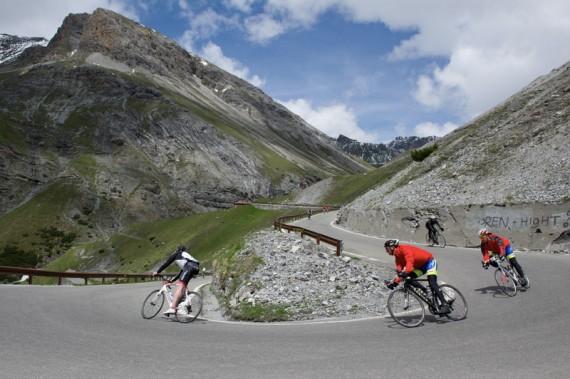 alpiner Abfahrtsspaß