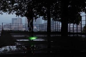 Toter Winkel ade: Das neue Blaze Laserlight kombiniert LED- und Lasertechnik.