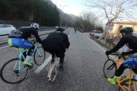 Klapprad gegen Rennrad