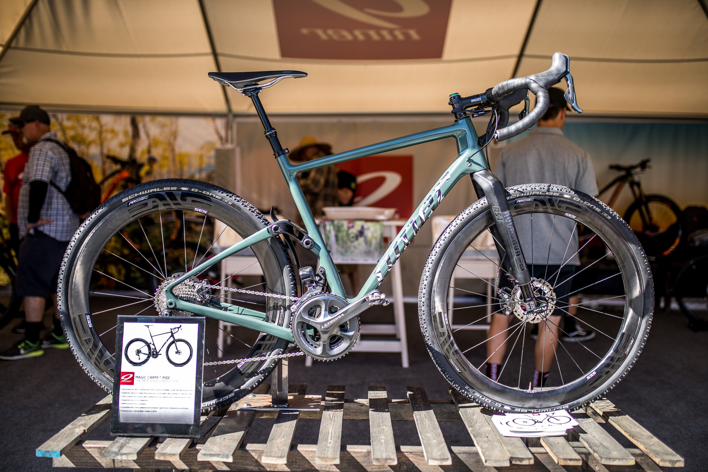 Sea Otter 2018: Niner Magic Carpet Ride Gravelbike-Fully - Rennrad-News