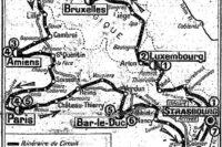 Randonnée zu den Schlachtfeldern des 1. Weltkrieges