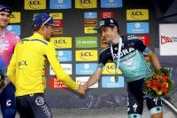 An der Ziellinie: Emanuel Buchmann fährt auf das  Dauphiné Podium und mehr