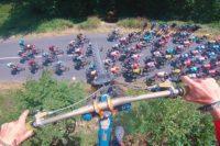Airtime über dem Peloton: MTB-Sprünge über die Tour de France – neuste Etappe