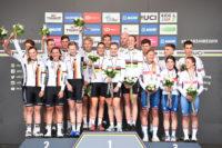 Rad WM 2019: Deutsche sichern Silber im Mixed TT